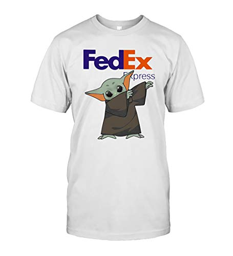 Dabbing Bäbÿ Yödä Mask Fe.dex Ex.Press Logo Cörönävïrüs T-Shirt Birthday Gift for Mens, Womens, Kids
