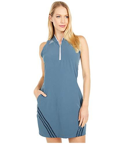 adidas Golf 3-Stripes Sport Dress, Legacy Blue, Small