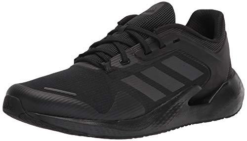 adidas Men's Alphatorsion Running Shoe, Black/Black/Black, 13