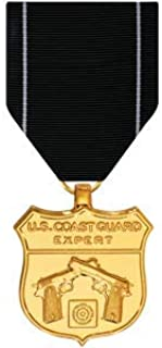Medals of America Coast Guard Expert Pistol Medal Anodized