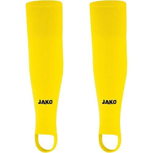 JAKO Junior Stutzen Glasgow 2.0, Gelb (citro), 1 (Herstellergröße: Junior)