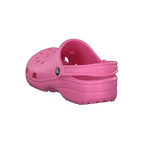 Crocs Classic Clog Unisex Adulta Zuecos, Rosa (Pink Lemonade), 38/39 EU