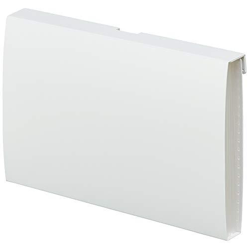 キングジム 収納ファイル ハルファイル ポケット KSP5005 シロ
