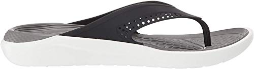 Crocs LiteRide Flip, Chanclas Unisex Adulto, Multicolor
