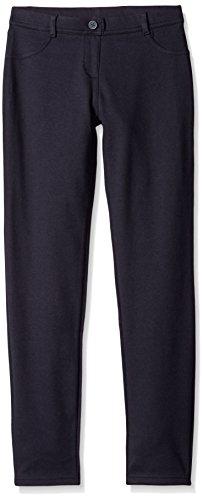 Nautica girls School Uniform Stretch Interlock Legging Casual Pants, Navy Blue, 8.5 Plus