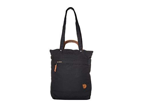 FJÄLLRÄVEN Totepack No.1 Small Bolsa de Tela y de Playa, Mujer, Negro, 45 cm