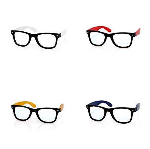 DISOK Lote de 40 Gafas de Sol SIN CRISTALES - Gafas de Sol Baratas Online, Fiestas, Promociones Unisex, Hombres, Mujeres