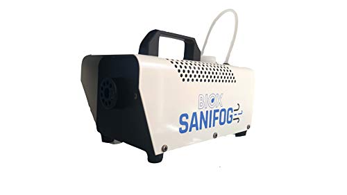 Biox Sanifog Maquina portátil sanitizante y desinfectante PRO1000 Original 1000W | Ideal para desinfectar tu hogar, tu automóvil, un Restaurante o un Comercio en General.