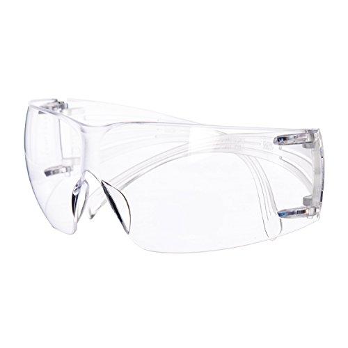 3M SecureFit 400 Gafas de seguridad de aumento, Anti-rayaduras/Anti-empañamiento, Lente transparente +1.5, SF415AS/AF ✅