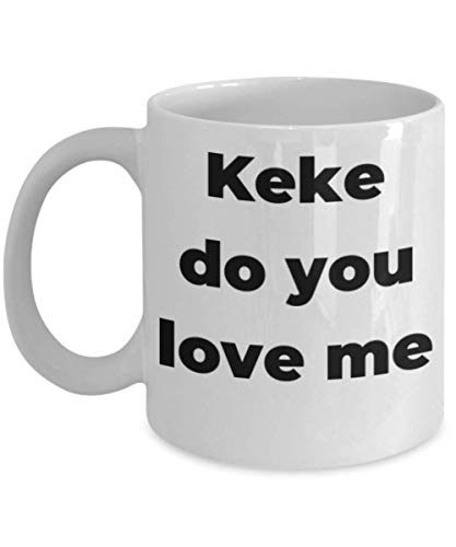 Taza Keke Do You Love Me Kiki Challenge In My Feeling Idea de regalo divertida para Drake Tears Fan Lover Friend Coworker Novio Novia Microondas Apto para lavavajillas Blanco Cerámica Novedad