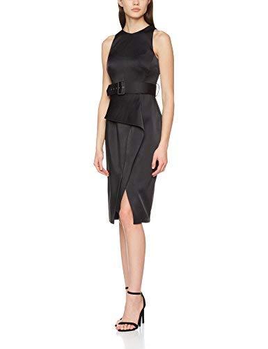 Coast Women's Rosalind Party Dress, Black, 10 UK (36 EU)