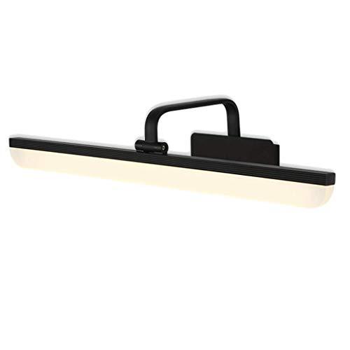Badspegel ljus Mirror front ljus ledde badrum ljus dressing bordslampa spegelskåp belysning (Color : White light, Size : L80CM(15W))