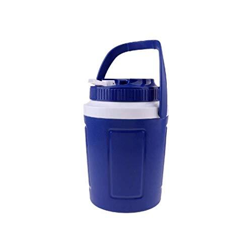 XBSXP Cubo de Hielo de plástico: recipientes de Helado de Primera Calidad, recipientes de Almacenamiento para congelador Tapas para Helado (tamaño: 2 l)