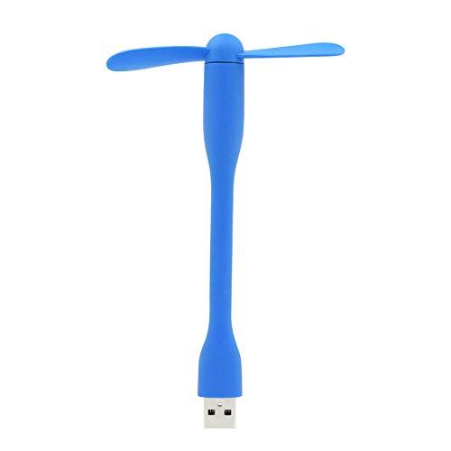 LZQBD Mini ventilador USB de refrigeración portátil de 6 colores, micro USB 2 ventiladores, dispositivo de verano flexible de alta calidad para tabletas portátiles con batería a/A/Como se