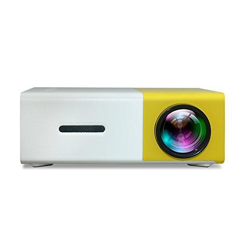 Mini proiettore originale YG300 Full HD LED 500LM Audio Home Theater HDMI USB Media Beamer
