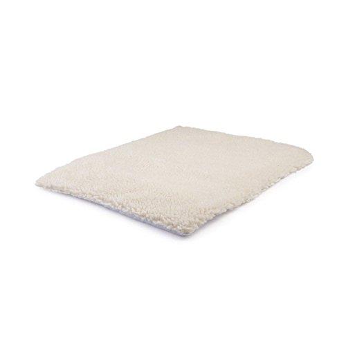ESjasnyfall verwarmingsdeken voor honden en katten, wasbaar, zonder elektrische deken, super zacht, voor puppy's en katten, beige