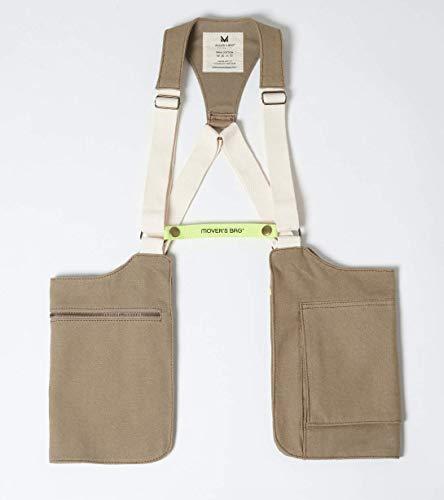 Bolso doble/Holster Bag Verde kaki