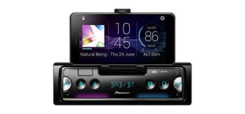 Pioneer SPH-20DAB 1DIN Autoradio con RDS e Dab+, Bluetooth, USB per MP3, WMA, WAV, FLAC, Supporto per Android, Controllo da iPhone, Smart SYNC App