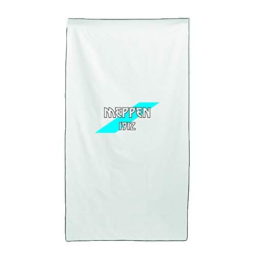 Tipolitografia Ghisleri Handtuch, Strandtuch Handtuch weiß Flagge Meppen 70 x 140 cm