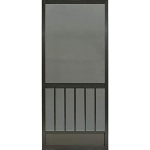 Westmore Bronze Aluminum Screen Door (80x36)