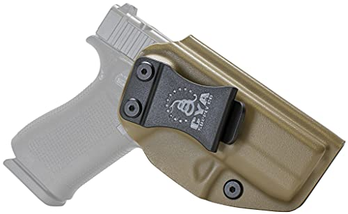 CYA Supply IWB Inside Waistband Concealed Carry Holster, Right Hand Draw - Flat Dark Earth