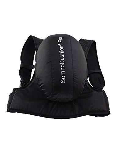 SOMNOCUSHION PRO Anti-Schnarch-Rucksack - verhindert Rückenlage im Schlaf (S-M) im FlexPoint Set mit Schlaftipp ABC
