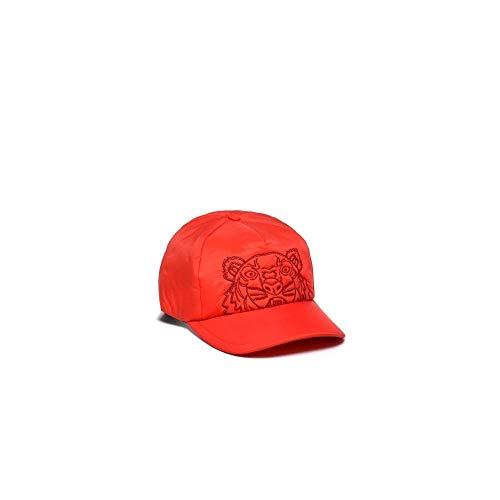 Kenzo - Gorra de Nailon, Color Rojo