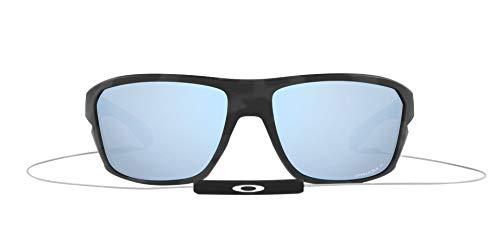 OO9416 Split Shot Sunglasses, Matte Black Camo/Prizm Deep H2O Polarized, 64mm