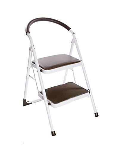 yjll Stap Kruk, training Vouwladder Met Handvat Binnen Draagbare Ladder/voetbank/opslag Beugel/bloem Stand - Stap Kruk