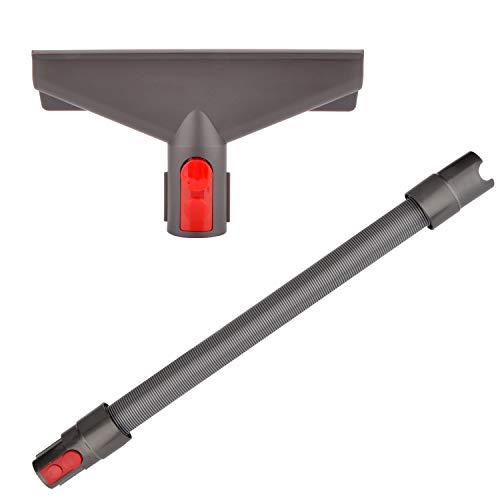 Breite Polsterdüse Zubehör mit Verlängerungs-Schlauch für Dyson V7 V8 V10 V11 SV10 SV11 Staubsauger (2 in 1)