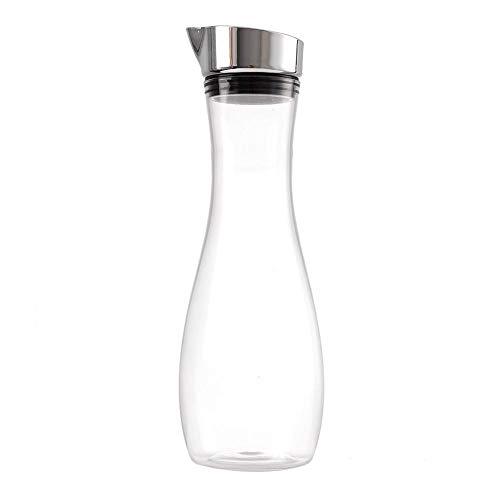 Mumusuki Waterfles 1.2L Premium Acryl Transparant Sap Fles Transparant Sap Fles Water Jug Juice Jug met Deksel