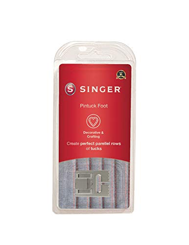 SINGER | Pintuck Presser Foot, Embellish Clothes & Linen, Also Made for Twin Needle Use - Sewing Made Easy