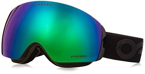 Oakley Unisex-Erwachsene Flight Deck Xm 706443 0 Sportbrille, Schwarz (Factory Pilot Blackout/Prizmjadeiridium), 99