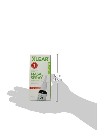 Xlear Nasal Spray with Xylitol, 1.5 fl oz (Pack of 2)