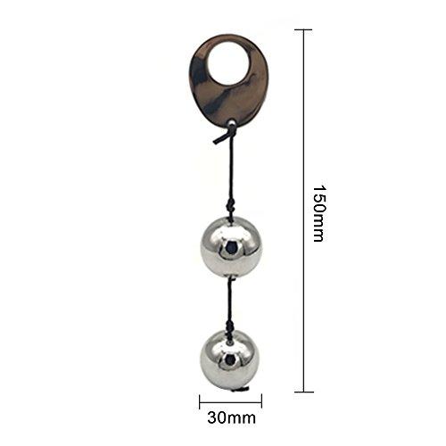 Kegel Exercise Weight Balls TinWong Metal Ben Wa Balls Kegel Balls for Advanced Women Bladder Control Tightening & Pelvic Floor Exercises.