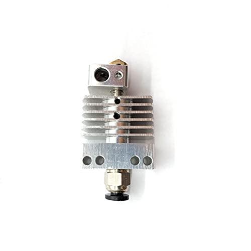 XIAOMINDIAN CR8 hotend Kit remoto Bowden 3D impresora extrusora todo metal radiador 1.75 puede ventilador fijo instalar horizontal piezas de la impresora