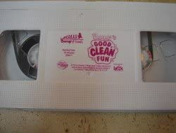 Barney's Good Clean Fun Vcr Video. Video Only No Case.
