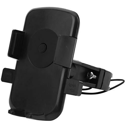 FOLOSAFENAR Negro Flexible del Tenedor de la navegación del teléfono móvil del Soporte del teléfono móvil de la Bicicleta Conveniente para el Coche