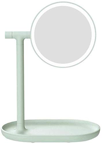 Stylish Simplicity Vanity Mirror With Lights For Makeup, Dressing Table Mirror With Led Lights Desktop Storage Perfect Birthday Present For Girl Kids, Suitable for Various Occasions