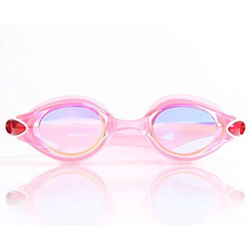 nobrand TEYUN Schwimmbrille gogogur Überzug schützt das Auge gut Anti-Fog-UV Prävention Glaswaren for Anfänger Glas U-Boot Schnorchel Silizium Schwimmen (Color : 5)