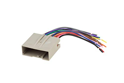 SCOSCHE FD23B Car Speaker Wiring Harness Connector Kit for Select 2003-Up Ford Vehicles