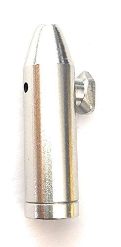 M&M Smartek Dosierer Portionierer sniff Snuff Bottle Sniffer Spender Dispenser Metall Verschiedene Farben Version 2.0 (Silber)