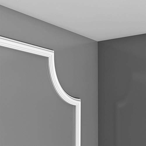 Elemento angular Orac Decor PX103A AXXENT Elemento de esquina para cornisa moldura perfil de estuco PX103 19 cm