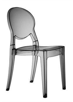 Set 2 sedie Igloo Chair Colore Fumè trasparente