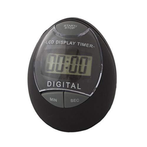Megaprom Digital Küchentimer Küchenuhr Eieruhr Timer Stoppuhr Kurzzeitmesser Batteriebetrieben mit LCD-Display