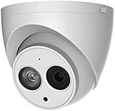 4MP POE IP Camera IPC-HDW4433C-A 2.8mm Indoor Outdoor Dome Security Camera with Audio Built-in Mic, 164ft IR Night Vision, H.265, IP67, WDR, 3D DNR