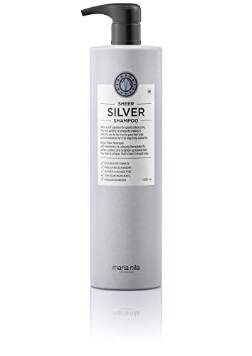 Maria Nila Sheer Silver Shampoo, 1er Pack (1 x 1000 ml)