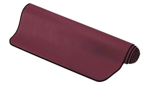 SISSEL Pilates Yoga Matte Fitness Gymnastikmatte burgundy red