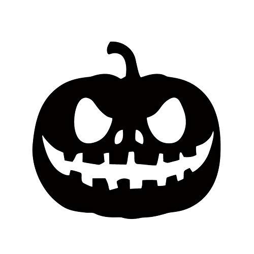 Coole Grafik Aufkleber Kürbis Laterne Halloween Auto Fenster Auto Stying Dekorativ