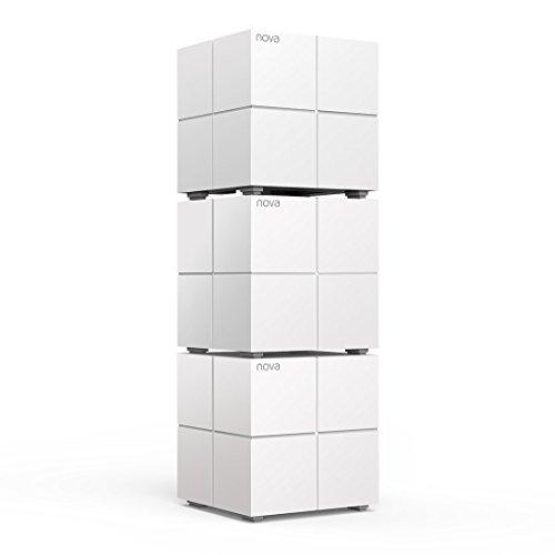Tenda MW6 Nova - Sistema Mesh WiFi para Todo el Hogar (Paquete de 3, Cobertura de Doble Banda de hasta 500 m², Mu-Mimo, Control Parental, Funciona con Alexa)